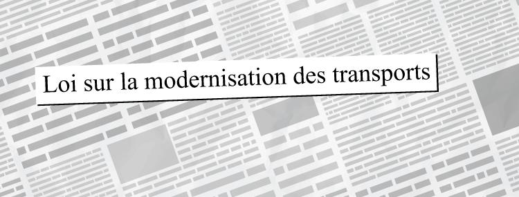 Loi sur la modernisation des transports