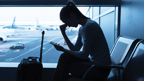 Link to file and air travel complaint