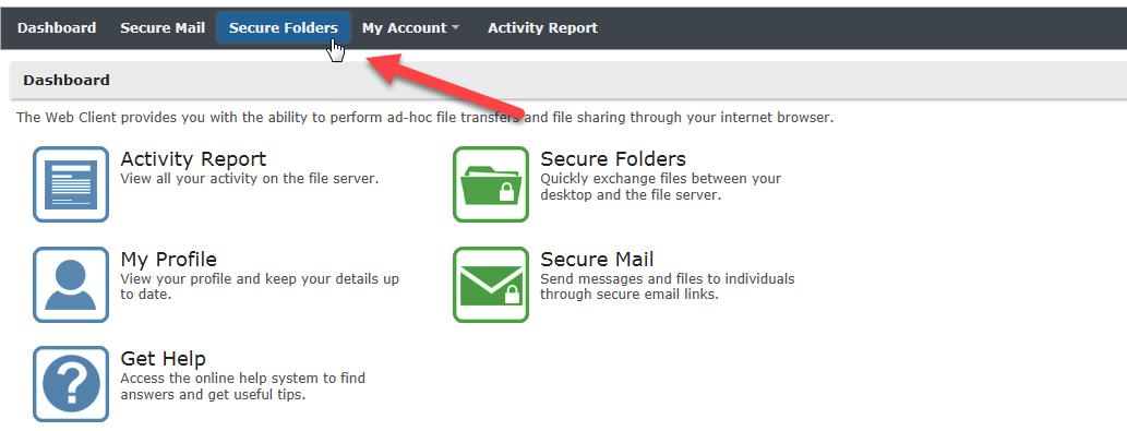 Secure folders image